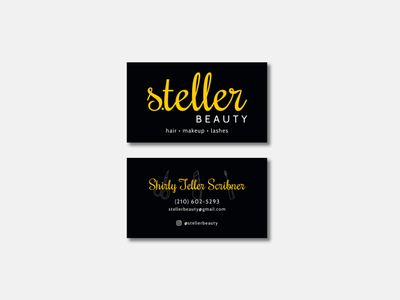 S.teller Beauty vector illustration