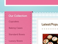 Crafted Cupcakes Website
