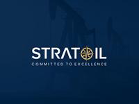 StratOil logo energy logo icon design branding