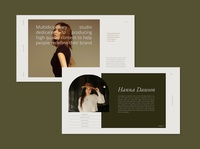 Media Kit Layout Concept welcomekit trending template presentation powerpoint moodboard keynote googleslides design brandingkit branding
