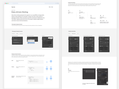 Data-driven styling form portfolio prototype ux ui