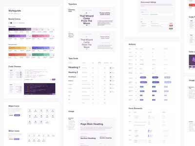 Style Guide color typography ui styleguide