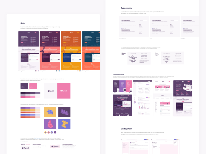 Runkit Rebrand Case Study design runkit rebrand case study