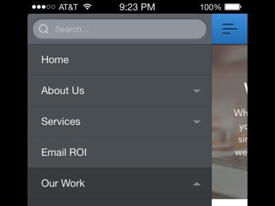 Responsive (mobile) design ui 2x retina web mobile mobile web