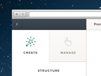 Create | Manage