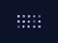 ✨ icon design designer icons icon set design