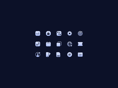 ✨ icon design designer icons icon set design