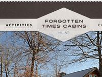 Rebound: Forgotten Times Cabins