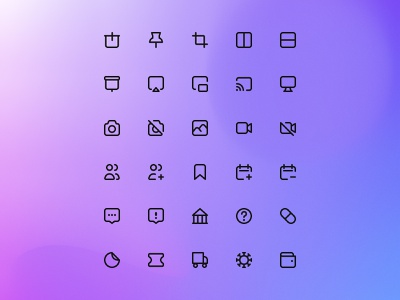 ⚡️ web app interface design iconic icon user experience user interface ux uiux icons pack icons set iconset ui icons design icon app icon design icons iconic