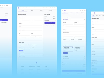 🛍 Checkout icons interface design ecommerce user experience user interface ux ui