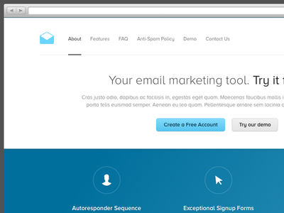io email marketing inboxology ui ux interface user interface 1x 2x retina