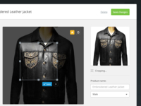 Adtent Brand Dashboard Product Modal Window