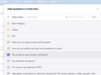 Recrumatic Build Interview Concept Modal