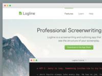 Logline Homepage Concept