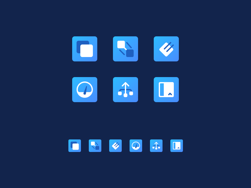 Grind Icons blue icons retina icons 2x icons icons icon design user interface ux ui design