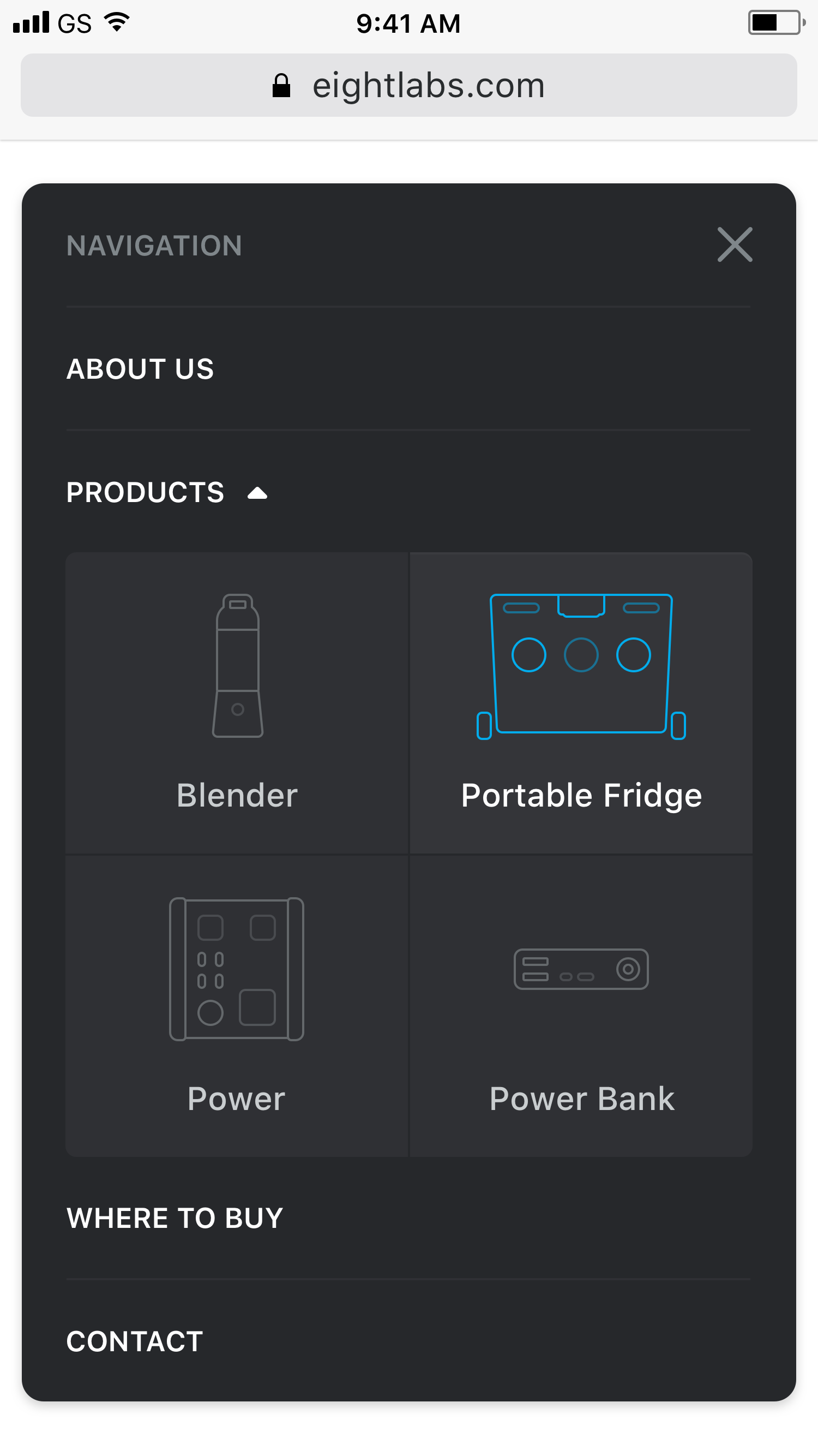 Eightlabs   dropdown products 2x