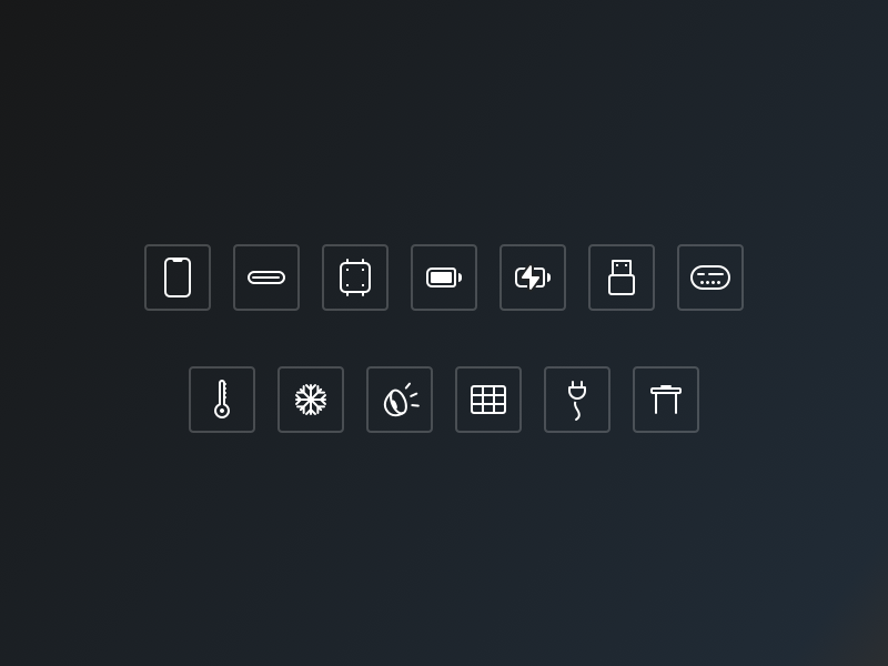 Feature Icons — Eight6Labs user experience user interface ux ui retina icons pixel icons icon design icons design