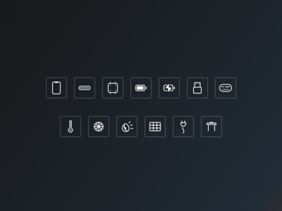 Feature Icons — Eight6Labs