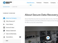 Secure Data - Sidebar