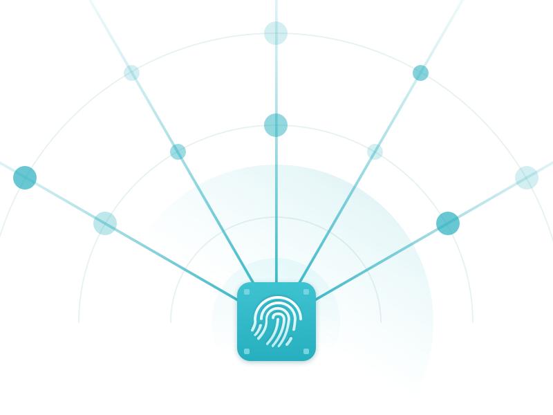👆🏻 icons icon design illustration user interface ux ui fingerprint design