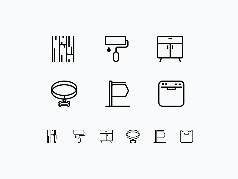 2 user experience user interface design ux ui icon set vector icons retina icons lined icons icons icon design