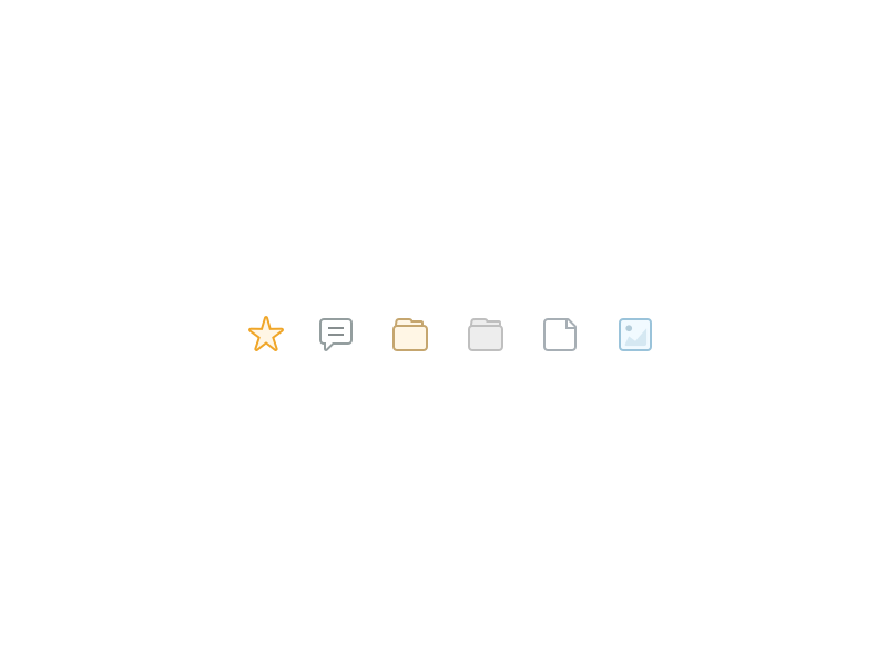 ⭐️💬🗂📂📄🏞 icon designer icons icon design small icons