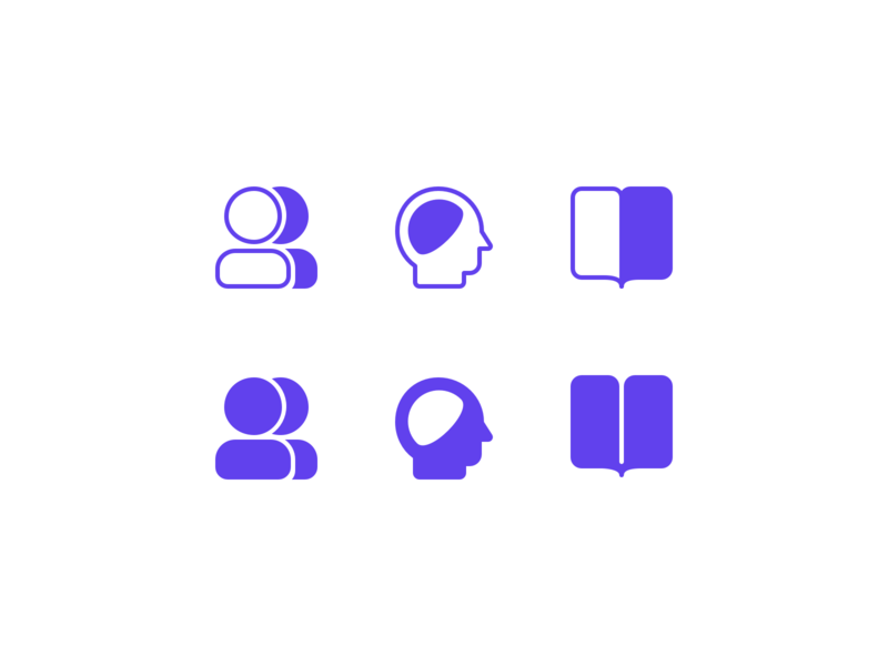 Friyay Icon Jam research icon thinking icon design thinking team icon user icon person icon iconset icons icon designer icon design user interface ux ui design