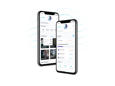 Julius Dashboard interface icon design icons whitney iphone x ios mobile ux mobile ui mobile interface mobile design mobile experience user experience user interface ux ui design