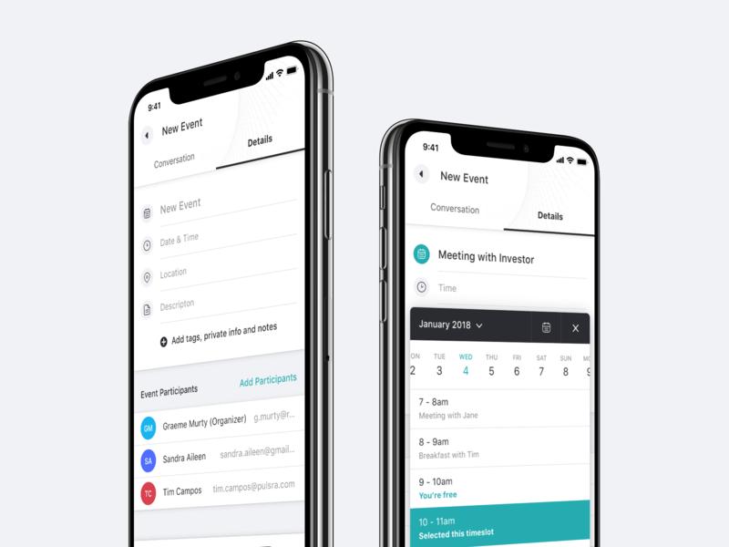 New Event web app 2x retina clean typography icon design ios icons interface mobile ui ios app ios experience user experience user interface ux ui design