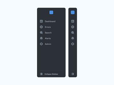 Revised Sidebar Navigation sidebar icons sidebar ui sidebar nav app icons interface interface design icon design user experience user interface ux ui design