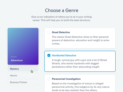 Choose a Genre icon design icons interface selection navigation navigation ui user experience user interface ux ui design