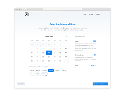 Select a date and time interface user experience inter inter font inter ui select date calendar calendar ui icon design freelance user interface ux ui design