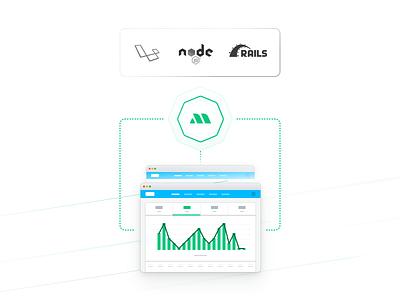 More Illo's icon design icons interface design  front-end  back-end miragejs laravel rails node illustration user experience user interface ui ux design