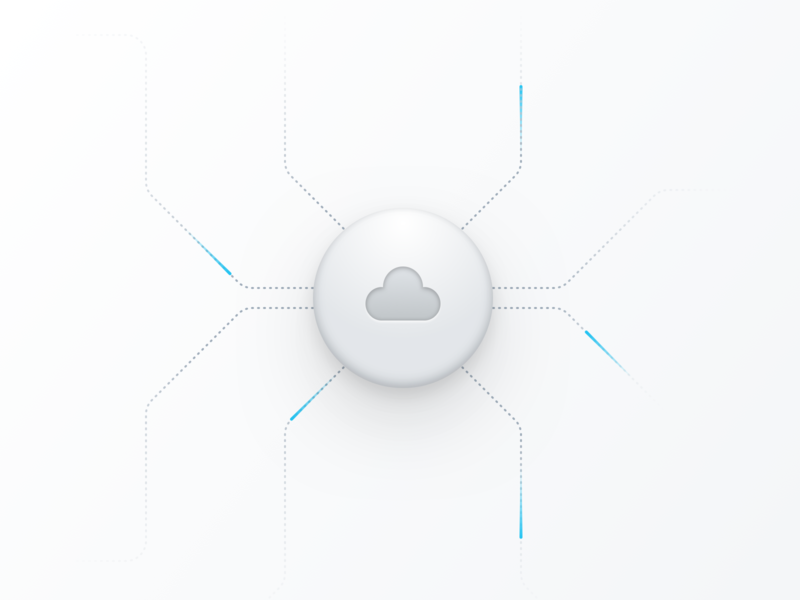 ☁️ designer illustration design icons interface user experience user interface ux ui 3d cloud illustration design