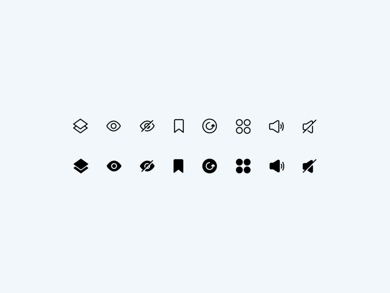 Initial Figma Icon Test 2x interface user experience user interface icon iconography icon pack iconset icons icon design ux ui design