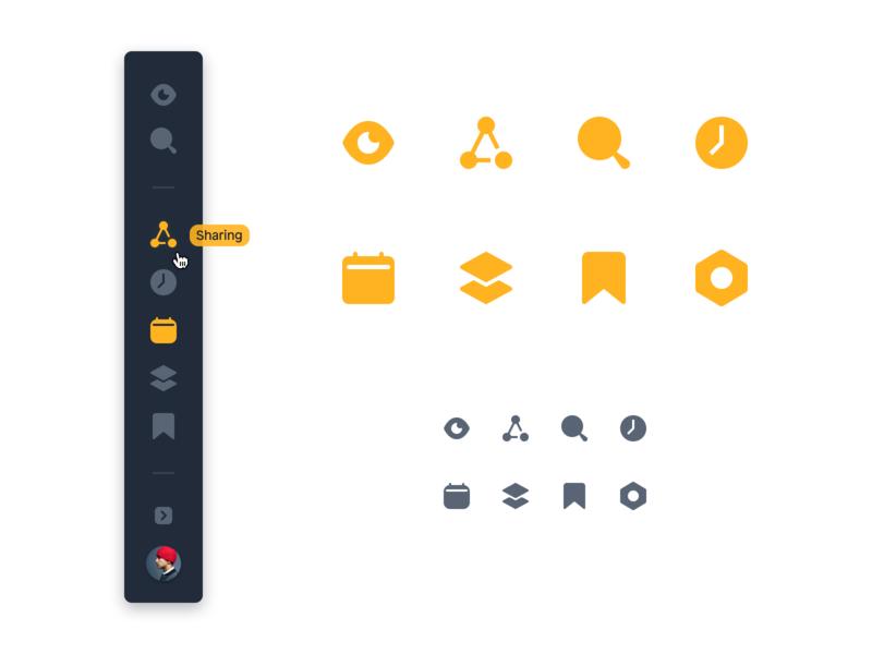 Figma Test #2 freelance designer icon designer web ui web app app ui interface icons icon design sidebar ui user experience user interface ux ui design