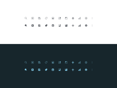A fun exercise interface user experience user interface ux design google icons small icons mini icons icon design icons ux ui design