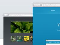Mini-browsers