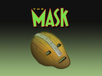 The Mask mask jim carrey design vector ai illustration