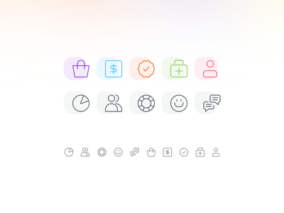 👜🤑✅🚑👩🏻🦲 icon design icons interface user experience user interface ux ui design