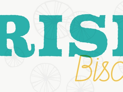 Rise Biscuit Co. logo pattern mid century