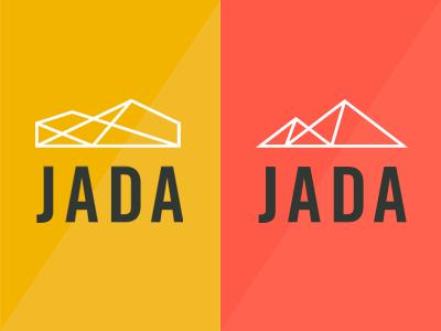 JADA Properties identity branding logo