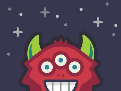 Monster Scout monster app illustration