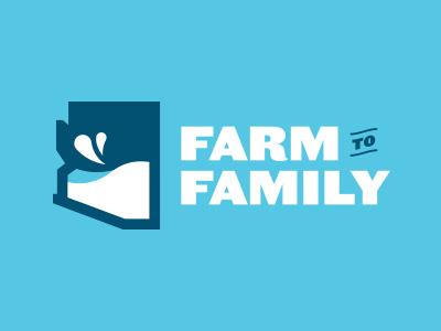 Farm to Family logo branding icon identity