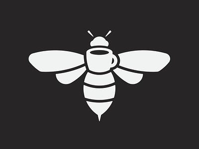 Caffio coffee espresso bee vespa identity icon branding logo