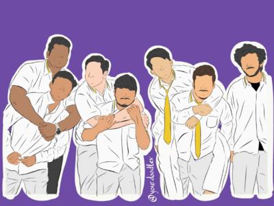 A Group Illustration ❣️