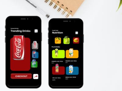Food ordering app food drink