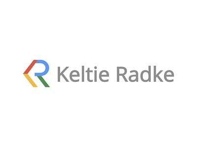 Keltie Radke icon typography logo