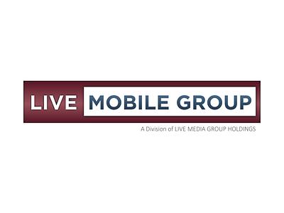 Live Mobile Group Logo branding design logo