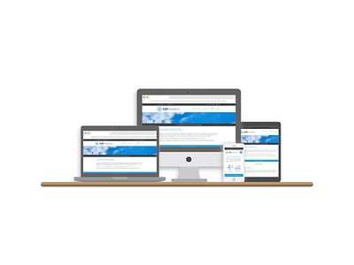AJM Solutions Website elementor wordpress website design web development